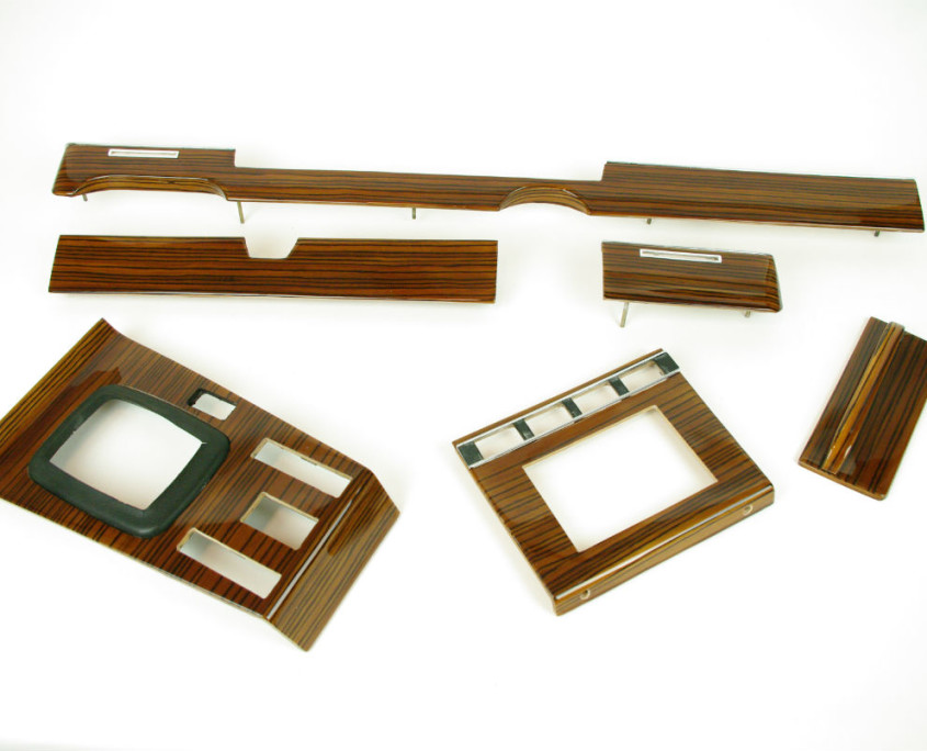 mercedes w116 zebrano wood trim