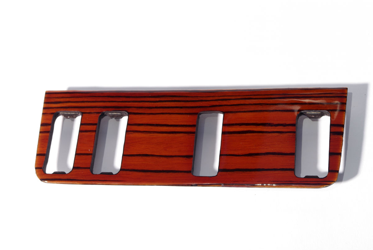 Imercedes w123 zebrano top buttons wood trim 1200
