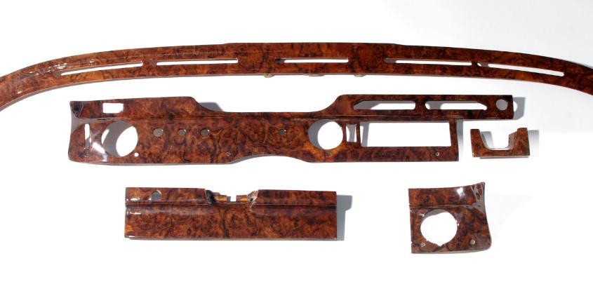 mercedes w108 burl wood restored 02