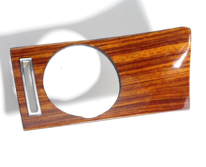 mercedes w114 right corner zebrano wood trim 1200