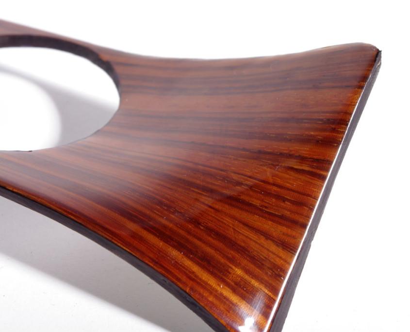 mercedes w115 corner zebrano wood trim 1200