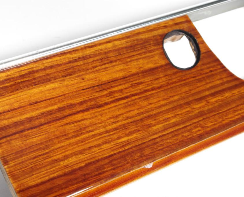 mercedes w115 zebrano glove box wood trim 1200