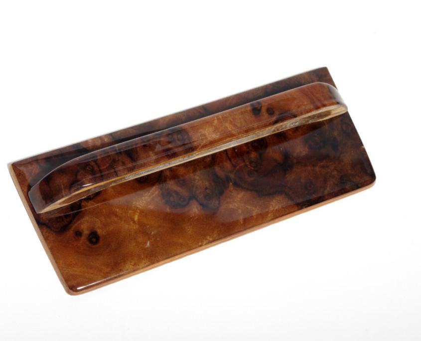 mercedes w116 burl wood ashtray trim
