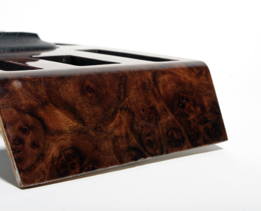 mercedes w116 burl wood center shift cover 5