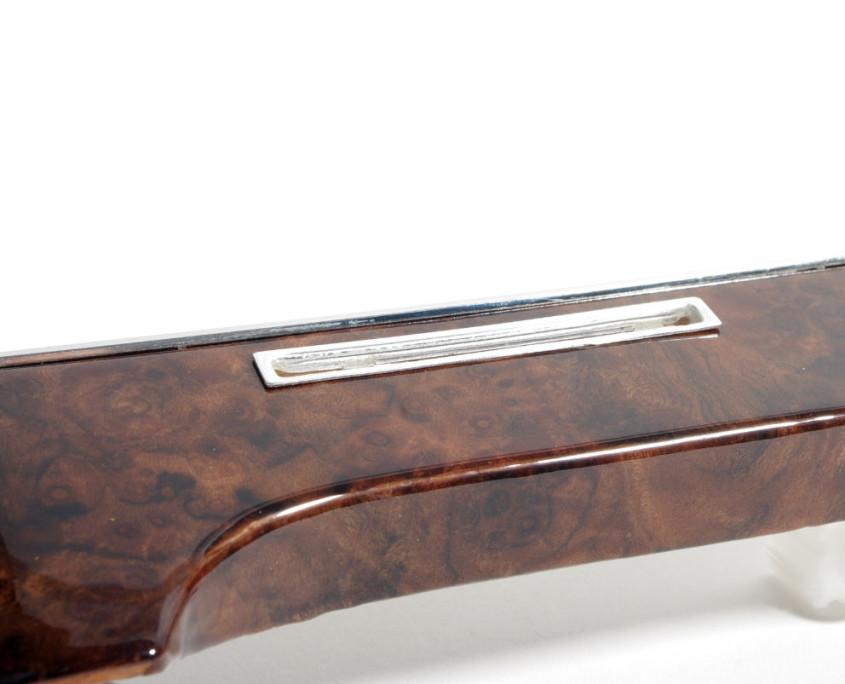 mercedes w116 burl wood  dash board trim 2