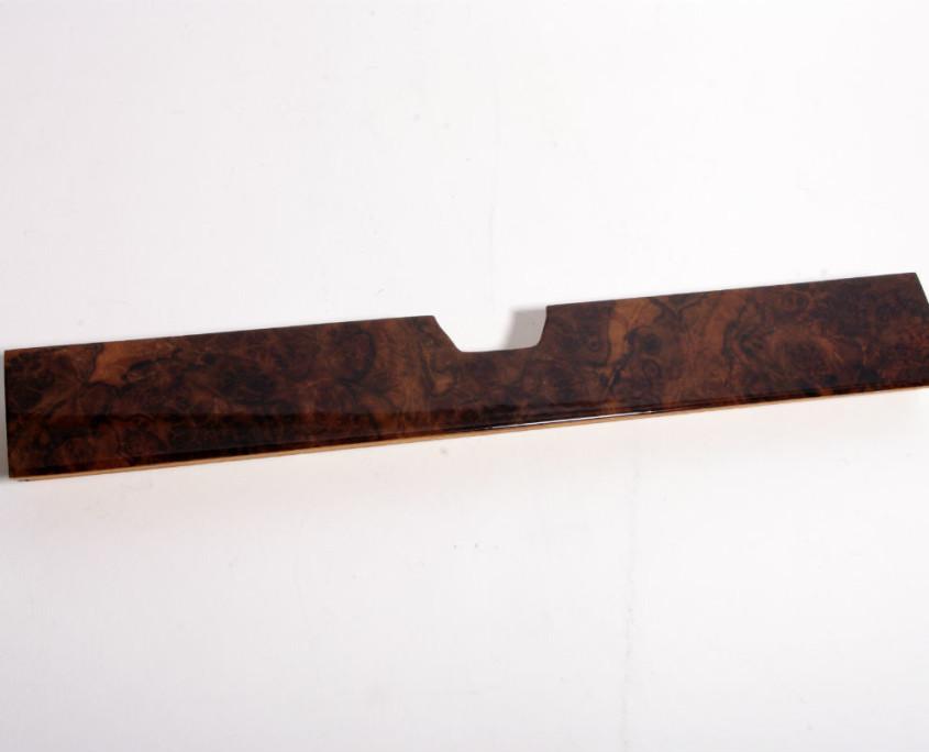 mercedes w116 burl wood  glove box trim