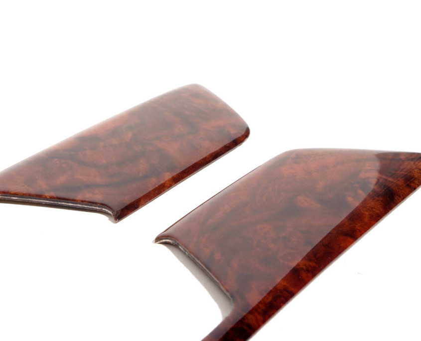 mercedes w201 burl wood door trim set 1200 2
