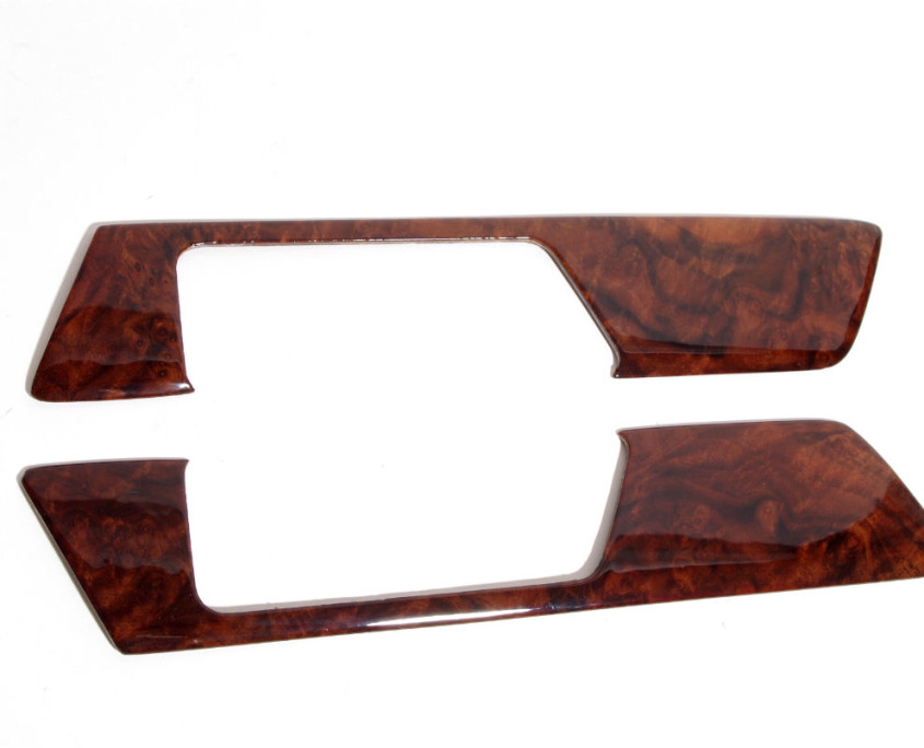 mercedes w201 burl wood door trim set 1200