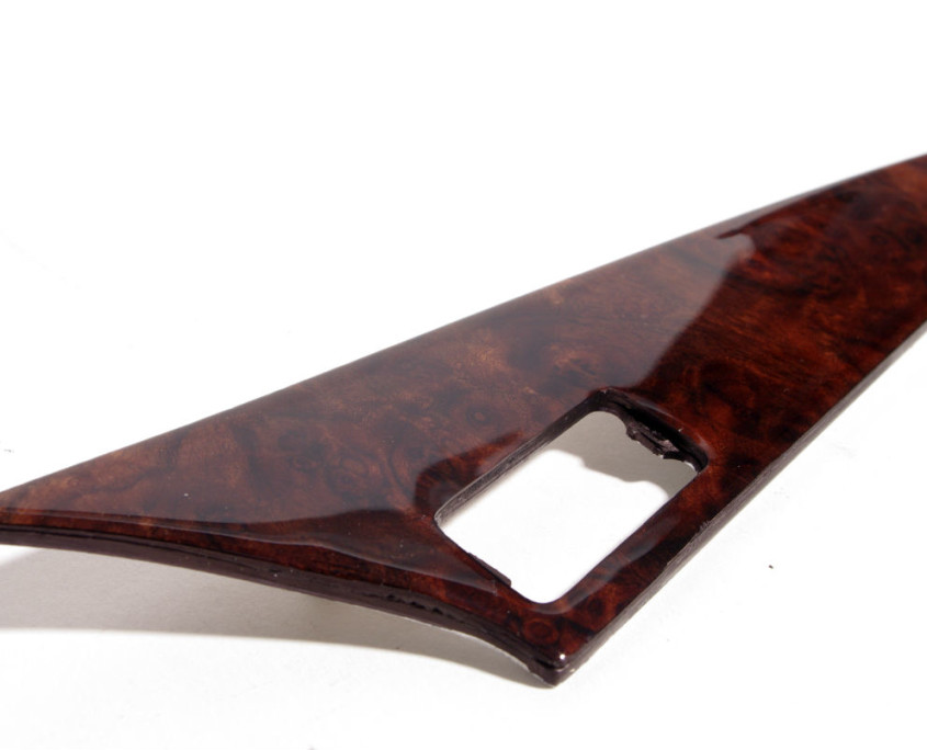 mercedes w201 burl wood top right side trim 1200  2