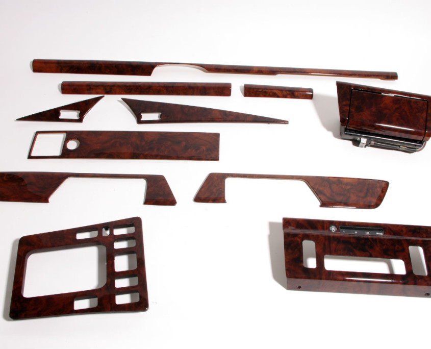 mercedes w201 burl wood trim set 1200 -2