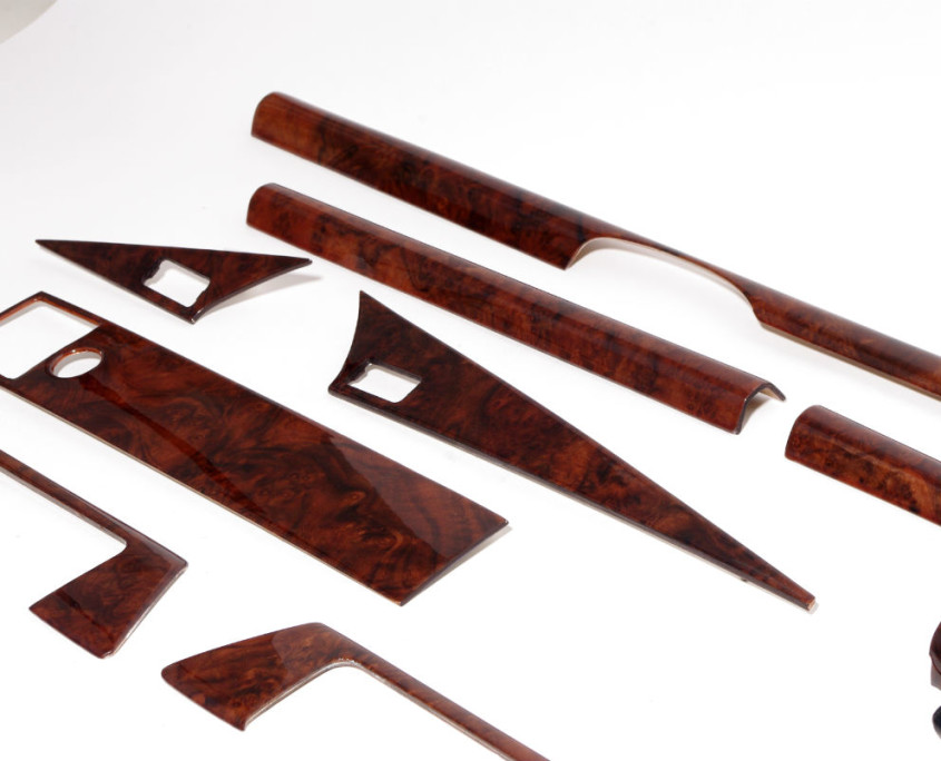 mercedes w201 burl wood trim set 1200 3