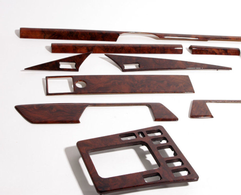 mercedes w201 burl wood trim set 1200  5