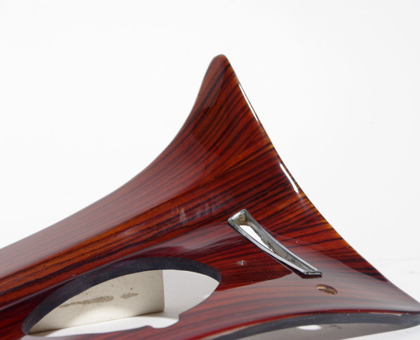 mercedes w108 dash right side wood trim 3