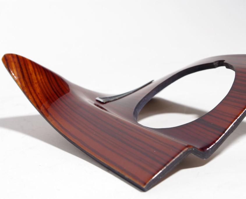 mercedes w108 dash right side wood trim 4