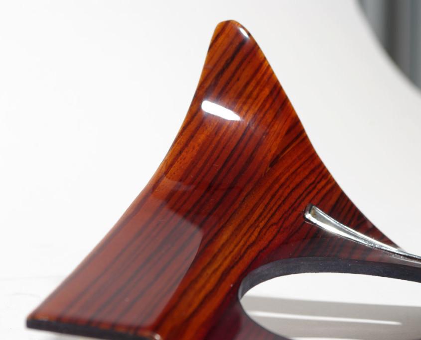 mercedes w108 dash right side wood trim 5