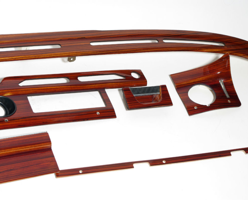 mercedes w108 wood trim set 3