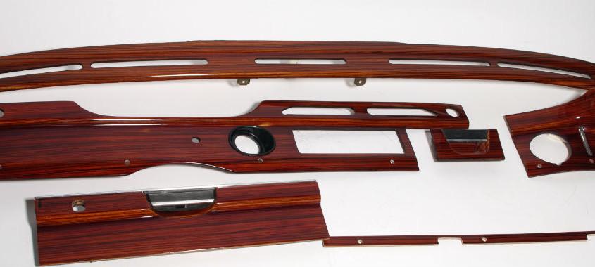 mercedes w108 wood trim set